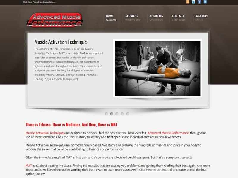 Penyertaan Peraduan #176 untuk Graphic Design for Advanced Muscle Performance