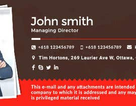 Nro 108 kilpailuun I want Printable design business card , letter head , dvd , envelop , email signature  using our logo . käyttäjältä mehfuz780