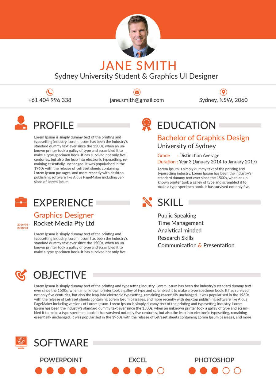 Entry  By Yeadul For Design Resume Templates With Css Html