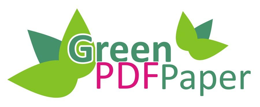 #219 for Logo Design for Green PDF Paper by jude134