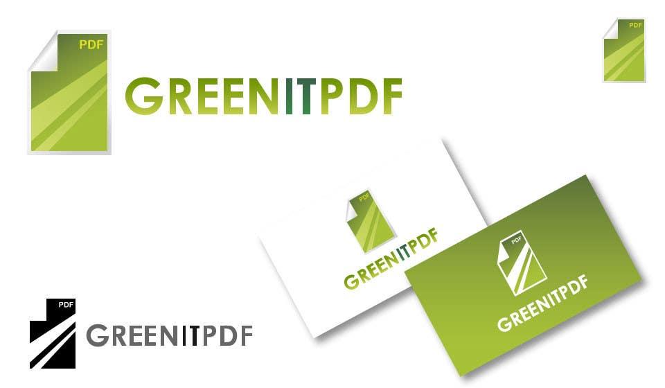 #87 for Logo Design for Green PDF Paper by akshaydesai