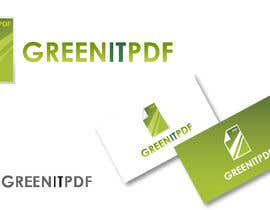 #87 para Logo Design for Green PDF Paper por akshaydesai