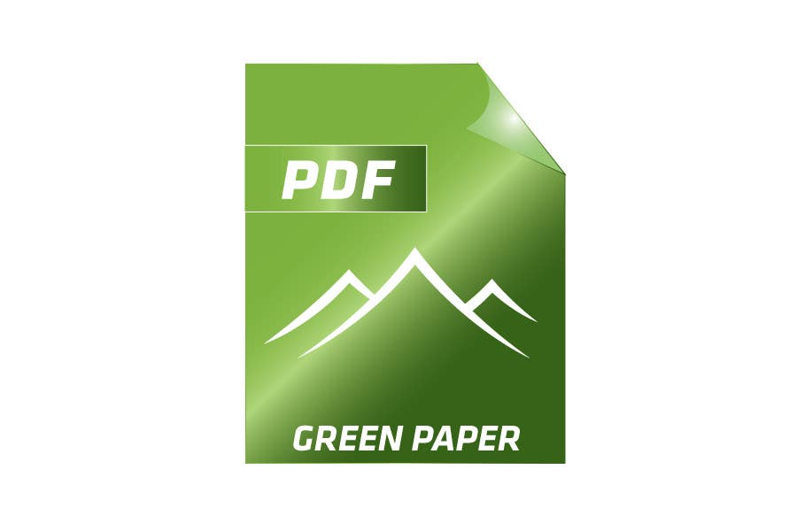 #168 for Logo Design for Green PDF Paper by CTLav