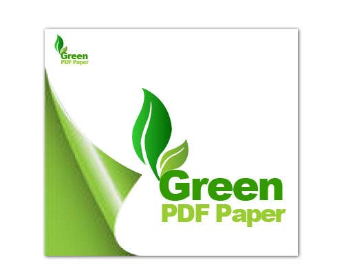#433 for Logo Design for Green PDF Paper by LogoDunia
