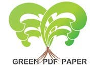 Graphic Design Entri Peraduan #299 for Logo Design for Green PDF Paper
