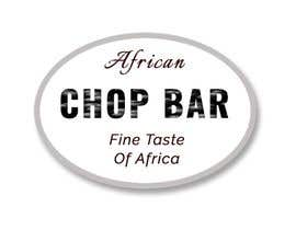 "Nro 7 kilpailuun I need a logo for my restaurant business.  The name of the restaurant is ""African Chop Bar"". And the motto is ""Fine taste of Africa"" käyttäjältä Bunnyp09"