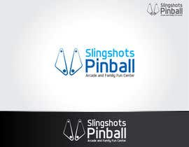 NexusDezign tarafından Logo Design for Slingshots Pinball Arcade and Family Fun Center için no 84