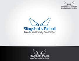NexusDezign tarafından Logo Design for Slingshots Pinball Arcade and Family Fun Center için no 85