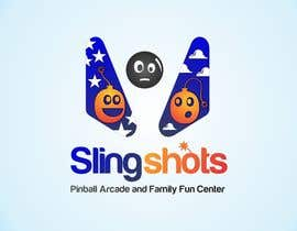 #78 para Logo Design for Slingshots Pinball Arcade and Family Fun Center por ImArtist