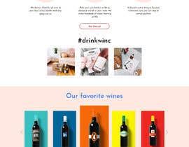 Nro 1 kilpailuun Wines website mockup käyttäjältä Saheb9804