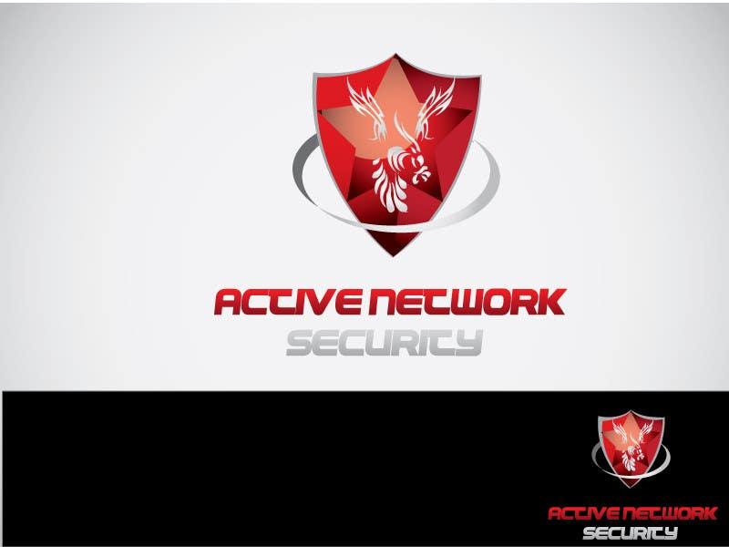 Inscrição nº                                         58                                      do Concurso para                                         Logo Design for Active Network Security.com