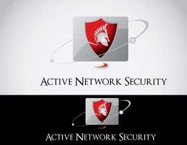 IQlogo tarafından Logo Design for Active Network Security.com için no 77