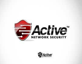 twindesigner님에 의한 Logo Design for Active Network Security.com을(를) 위한 #102
