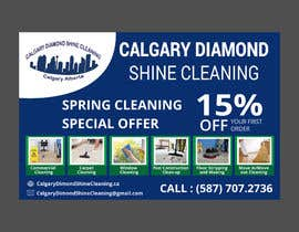 #53 for Flyer for a cleaning company by shamimfreelance2