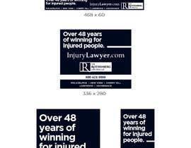Nro 72 kilpailuun Multiple Banner Ads needed in a variety of sizes käyttäjältä DaveWL