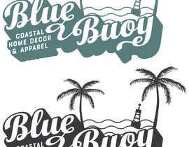 #112 para Logo design for Blue Buoy designs.  A coastal home decor & apparel store de totemgraphics