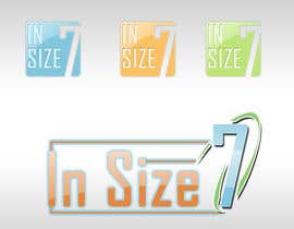 #36 for Logo Design for In Size Seven (shoes) af ariesta1503