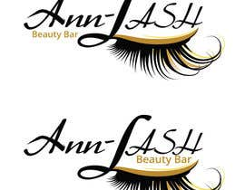 logo designed for a beauty bar specializing in eye lash extensions