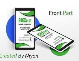 #40 untuk Business Card Design - Alexpert oleh Niyonbd