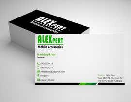 #49 untuk Business Card Design - Alexpert oleh lipiakter7896