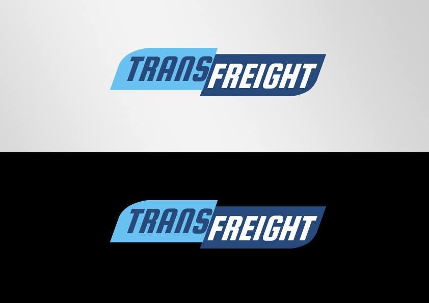 Kilpailutyö #57 kilpailussa Graphic Design for Transfreight