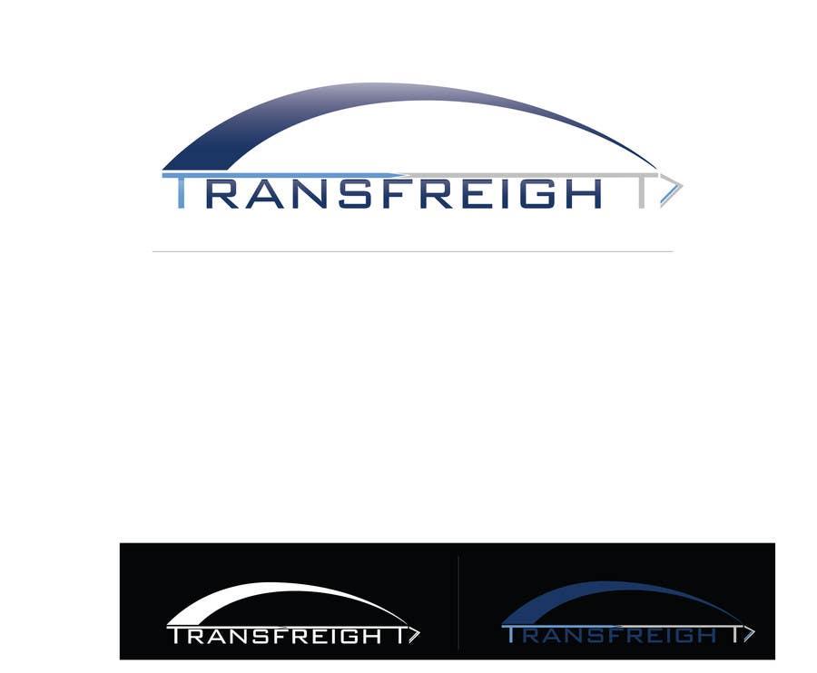 Kilpailutyö #                                        74                                      kilpailussa                                         Graphic Design for Transfreight