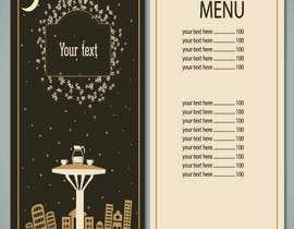 nº 15 pour Design a Table Menu for a Cafe par sajjadurrcbd