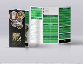 #22 for Design a fold-able A4/A3 menu for Spa by Sumonrm
