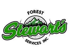 Nambari 23 ya Design a Logo Stewart's Forest Services Inc na jhorvindeffit
