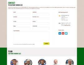 Nro 55 kilpailuun Design a website for a danish company käyttäjältä massoftware