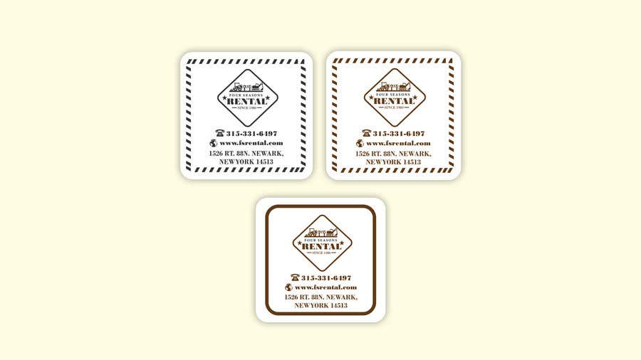 Create a sticker design for my business