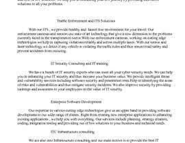 Nambari 7 ya I.C.T Company's Profile Writing (Website Copy) na saritha1979