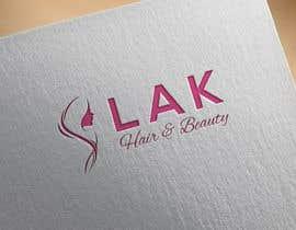 Nambari 138 ya Design eines Logos for LAK Hair & Beauty na bcs353562