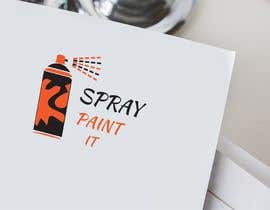 """Nambari 8 ya A logo to represent what we do . We are called """"Spray paint it"""" We spray paint upvc windows, doors, conservitories, kitchens to any ral colour, on site na Umekulsoom"""
