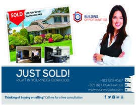 #10 for Motivated seller (REalEstate) POSt card by nirobmahmud900