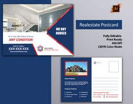 #9 for Motivated seller (REalEstate) POSt card by smileless33