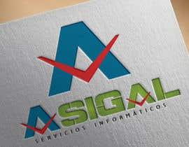 #48 para Design a logo for Asigal S.L. (informatic services) de Rasekmaster77