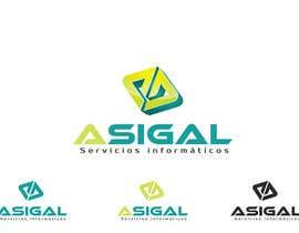 #47 para Design a logo for Asigal S.L. (informatic services) de Dokins