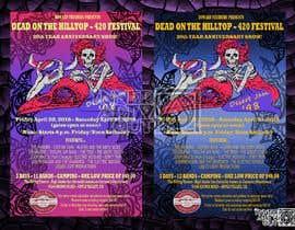 Nambari 131 ya 420 Deadhead Concert Poster design needed na InnerArtOut