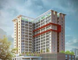 Nambari 3 ya I need a 3d rendered very high quality design for the exterior of my apartment building. na tyo11