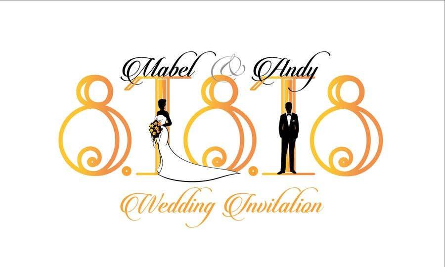 Entry #46 by desaichokri for Design a Logo for a wedding invitation ...
