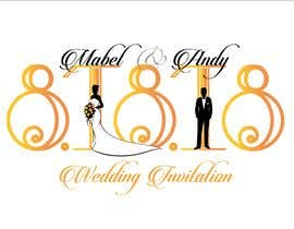 #46 for Design a Logo for a wedding invitation by desaichokri