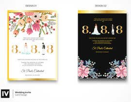 #21 for Design a Logo for a wedding invitation by Nazriv
