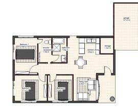 nº 20 pour Architecural design for renovation of unit / villa in Melbourne par shiprac55