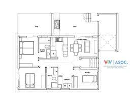 nº 12 pour Architecural design for renovation of unit / villa in Melbourne par vvillavic