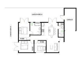 nº 23 pour Architecural design for renovation of unit / villa in Melbourne par ennovy
