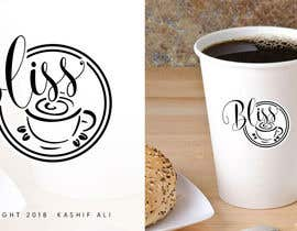"nº 35 pour Logo design - ""Bliss"" on hot paper cup par kashifali239"