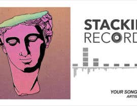 #66 for Simple Music Visualizer for our YouTube-channel (Stackin' Records - 31.000 subs) by ZhanBay
