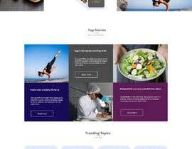 Nambari 76 ya Redesign this home page based on the brief provided na likhon344
