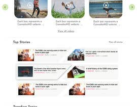 Nambari 73 ya Redesign this home page based on the brief provided na samragav